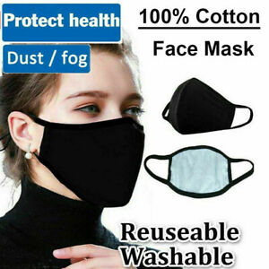 Anti Air Pollution Face Mask Washable Reusable 100% Cotton Mouth Face Mask
