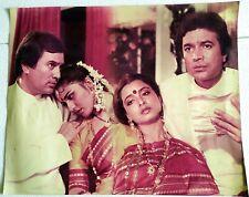 Rare Bollywood Poster - Rajesh Khanna - REKHA - Reena Roy - 22 inch X 18 inch