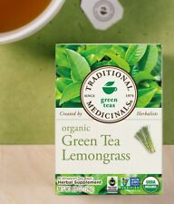 Traditional Medicinals Green Tea Lemongrass organic tea
