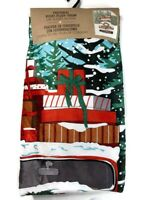 Christmas Red Truck Plush Throw Blanket Sherpa Velvet Decoration Gift Decor New