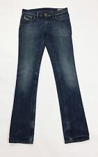 Diesel liv jeans stretch W28 tg 42 blu skinny slim usato donna accorciati T2100