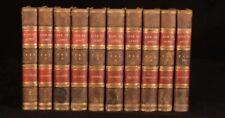 1839 10vol Memoirs of the Life of Sir Walter Scott John Gibson Lockhart
