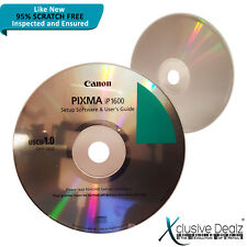 RARE Canon Pixma ip1600 Printer Setup Software & User's Guide CD DISC ONLY! #XD1