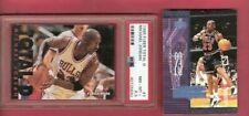 MICHAEL JORDAN 95-96 FLEER TOTAL D INSERT CARD PSA NM-MINT+ 8.5 &UD AERODYNAMICS