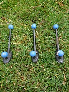3 Vintage Atomic Sputnik Coat Hooks