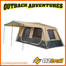OZTRAIL FAST FRAME CRUISER 420 CABIN INSTANT UP QUICK PITCH 8 PERSON TENT