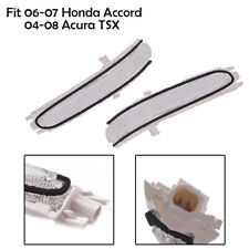 Fit 2004-2008 Acura TSX Sedan Rearview Mirror Turn Signal Light Left + Right 2PC