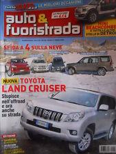 Auto & Fuoristrada n°2 2010 Sfida tra Cayenne vs Mercedes ML Pajero Discove[P39]