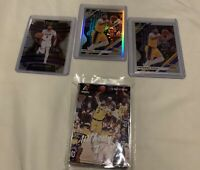2019-20 Donruss Optic Silver Prizm Holo Anthony Davis Los Angeles Lakers Lot