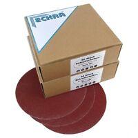 100 ECKRA® Schleifscheiben 150mm P60 ohne Loch mit Klett Schleifpapier Schleifmi