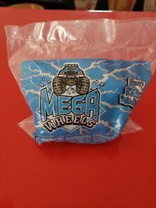 1995 Wendy's Mega Wheels Truck Black Purple Music Toy NIB Kids Meal Stickers