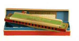 "HOHNER MARINE BAND 6"" HARMONICA  KEY OF C NEAR MINT CONDITION REF:2749H"