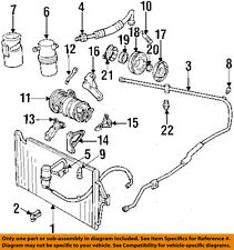 a c hoses fittings for cadillac deville ebay. Black Bedroom Furniture Sets. Home Design Ideas