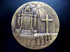 CROSS / GOD / LEGEND OF THE CROSSES / BRONZE MEDAL BY J.VASCONCELOS/ N101