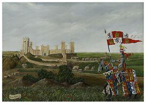 John of Gaunt, King of Castile, Duke of Lancaster at Ponte Castle Ltd Ed Print