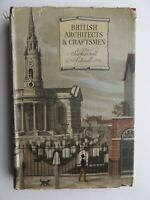 British Architects & Craftsmen - Sacheverell Sitwell First Edition 1945 Book