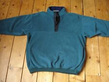 MUSTO SNUGS Polartec mens fleece jumper size M green