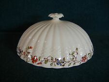 Copeland Spode Wicker Dale Covered Muffin Lid