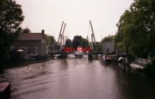 PHOTO  NETHERLANDS ON RIVER VECHT 1991 VIEWS ON THE RIVER v8