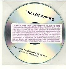 (DD17) The Hot Puppies, How Come You Don't Hold Me No More - DJ CD