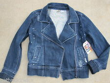 NEW* ROXY JEAN JACKET COAT SHIRT Blazer $54 GIRLS XL 16