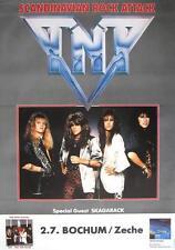 """TNT/Skagarack TOUR POSTER/MANIFESTO CONCERTO """"Tell No Valle Tour"""""""