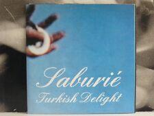 "TURKISH DELIGHT ( Orhan Seyfi Celik ) - SABURIÉ - 7"" VINYL WITH POSTER COVER"
