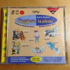 Let's Learn Italian Multimedia Picture Dictionary CD Ages 6 to Adult