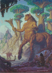 1994 Tim Hildebrandt Flight of Fantasy Holochrome H5 The Giant Centaur Refractor