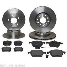 JURATEK QUALITY FRONT & REAR BRAKE DISCS & PADS VW PASSAT 00-05 PLEASE CHECK