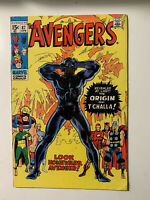 Avengers #87 - 8.0 VF Condition- Origin of Black Panther