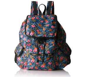 LeSportsac Rifle Paper Rosa Voyager Backpack Rucksack floral design new w tags