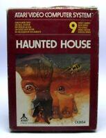 Atari 2600 - Haunted House mit OVP OVP beschädigt