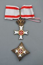 Ordre de Malte, ensemble de Grand Officier de l'ordre du Mérite de Malte