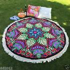 Hippie Round Mandala Tapestry Indian Wall Hanging Beach Throw Towel Yoga Mat Hot