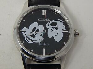 Gents CITIZEN Eco-Drive Disney Mickey Mouse WRISTWATCH Eco-Drive WORKING