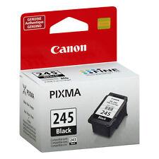 Canon PG-245 Black Ink Cartridge, Genuine, New-in-Box - Non Expired - Original