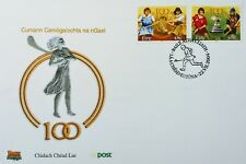 Ireland Stamps, FDC, Centenary of Cumann Camogaiochta na nGael - dated 22/7/2004