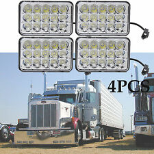 4x LED Headlight Sealed Hi/Low Beam HID Bulbs For Kenworth Peterbilt 357 378 379