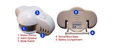 Portable Alarm System With IR Motion Sensor  W/  90 db alarm siren
