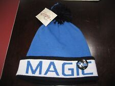 MENS ORLANDO MAGIC  Mitchell & Ness Winter BEANIE HAT WITH PIN BUTTON  NWT