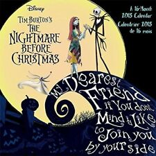 NIGHMARE BEFORE CHRISTMAS 16 Month 2018 Photo Wall Calendar/Posters