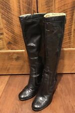 Sofft Patent Leather Tall Heeled Boots Size 8.5M