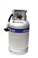 ALUGAS Gasflasche Tankflasche 11 Kg Multiventil