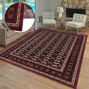 New Traditional Oriental Rug Non-Slip Classic Bedroom Carpet Living Room Mat