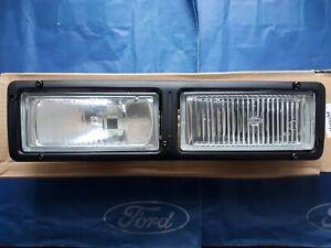 New genuine Ford Fiesta Mk3 Front bumper LH lamps - Rs Turbo hella light B