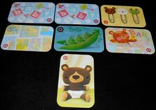 7 Collectible Gift Card TARGET Baby Department Store All Dif Lot No Value <2010