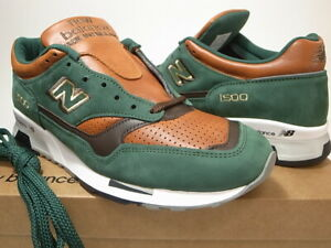 NEW BALANCE M1500GT GREEN BROWN MADE IN ENGLAND size 7