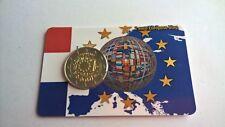 Nederland 2015 Coincard 2 Euro 30 Jaar Europese Vlag (Andere Versie, Niet KNM)