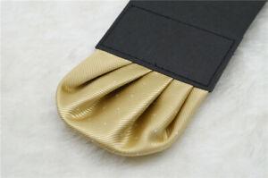 Men's Satin Silk Pre Folded Pocket Square Hankie Hankerchief Wedding Party